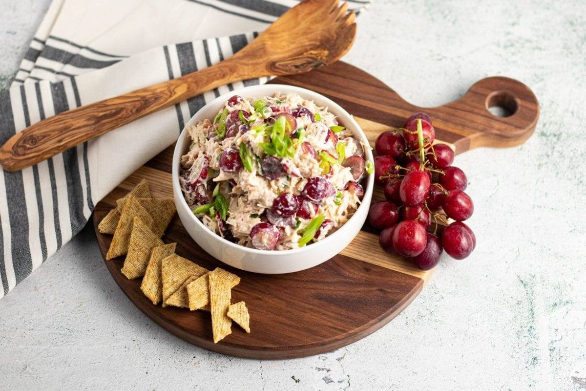 Chicken and Grape Waldorf Salad