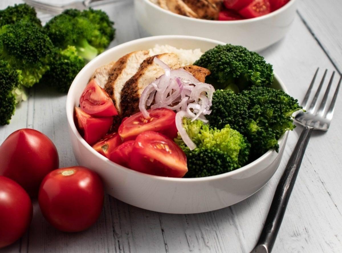 Chicken Broccoli Power Bowl