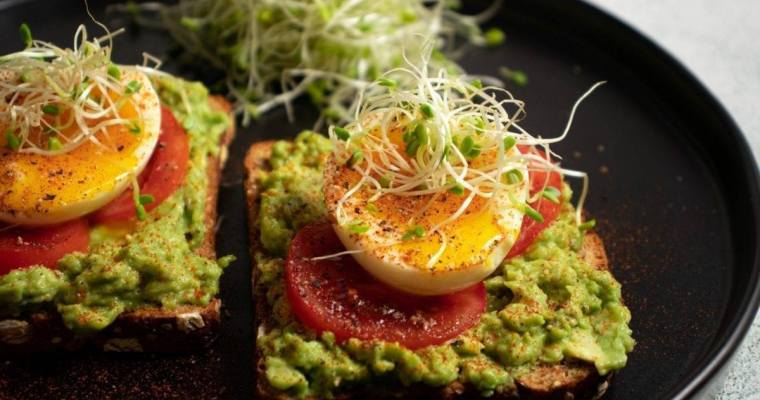 Soft Boiled, Avocado Toast