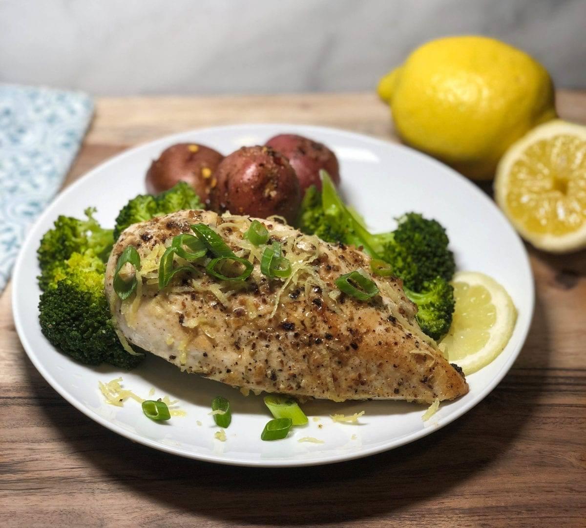 Lemon Chicken & Broccoli