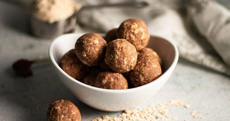 Vanilla and Cinnamon Protein Balls