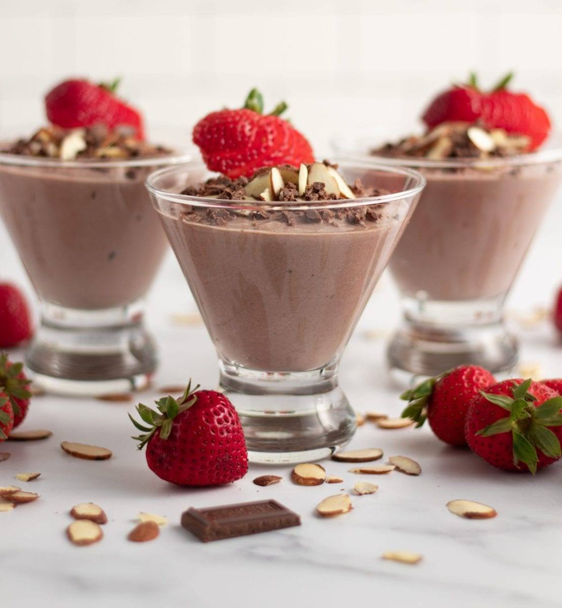 Chocolate Almond Yogurt