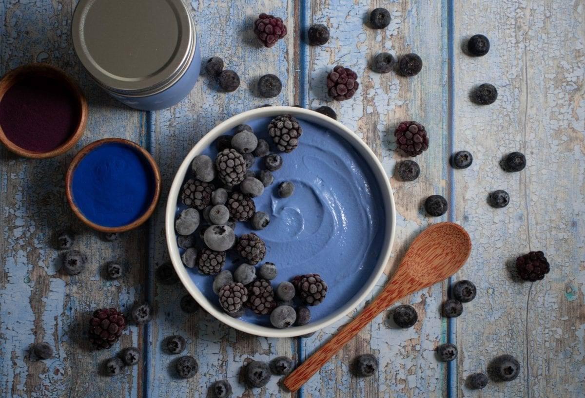 Dreamy Blue Yogurt Bowl