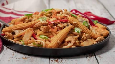 Udon Spicy Stir Fry