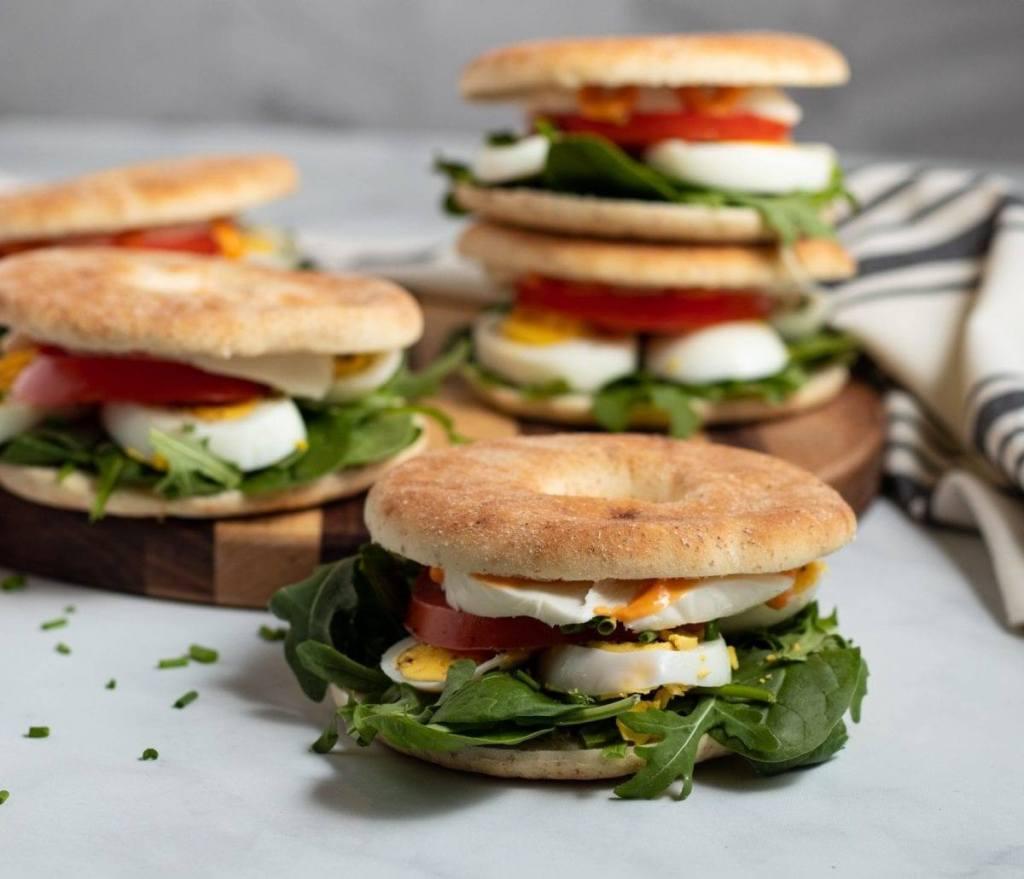 Mozzarella Egg Sandwich Meal Prep Meal Plan