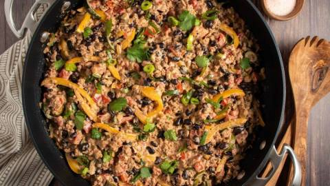 Keto Mexican One Pot Meal Meal Prep Meal Planning Counting Macros