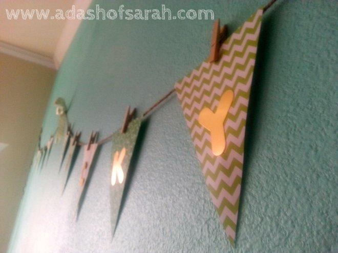 Lucky St Patricks Day Bunting Banner DIY
