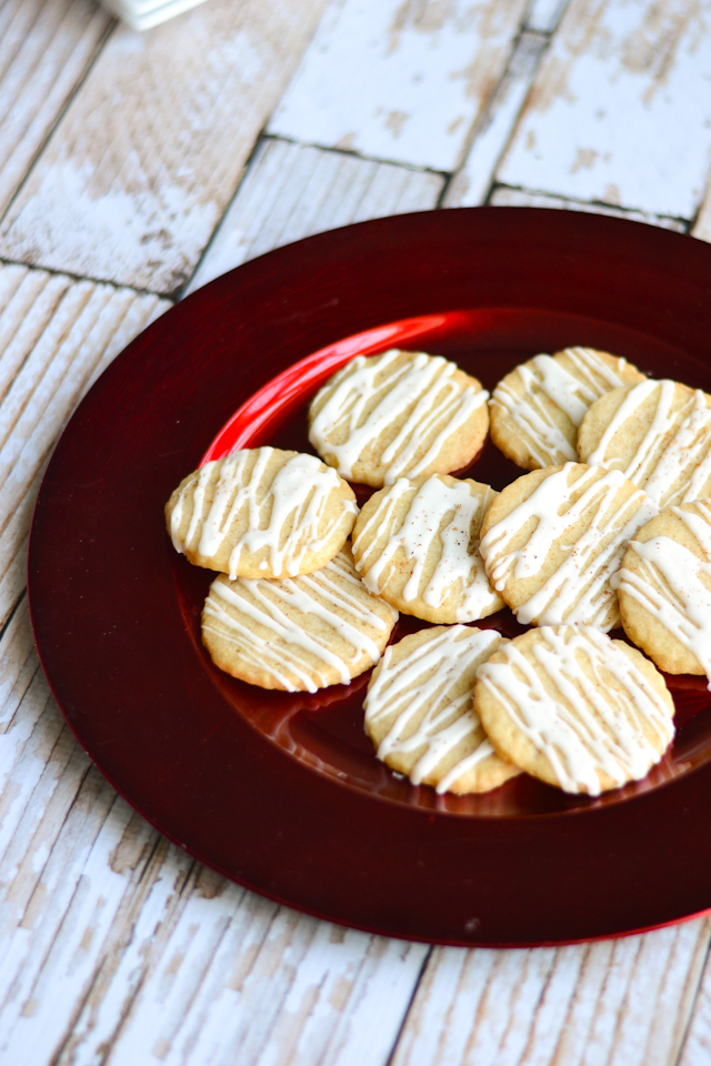 Sweetly spiced, buttery tasting sugar cookies made with coconut oil instead of butter!