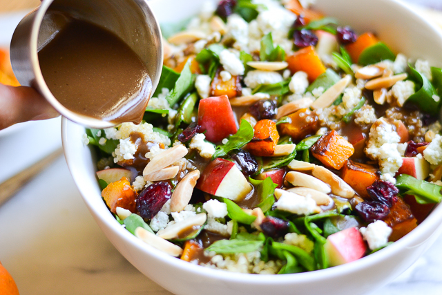 A full meal salad packed with fall goodness and a sweek, smoky vinaigrette!