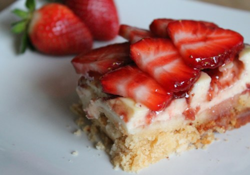 Strawberry Yogurt Bars Recipe