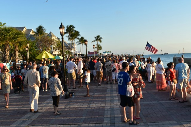 Mallory Square Crowds - ADOS