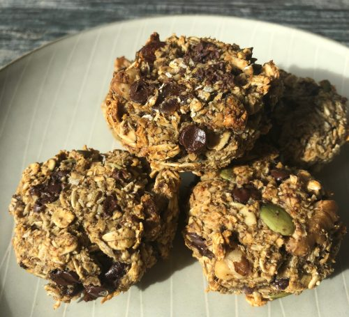 monster granola cookies