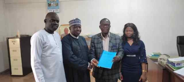 Representatives of Atiba University and New Horizons Solutions Teams after Signing the MoU on ICT Certification Courses