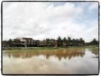 Hoi An Altstadt mit dem Fluss Thu Bon