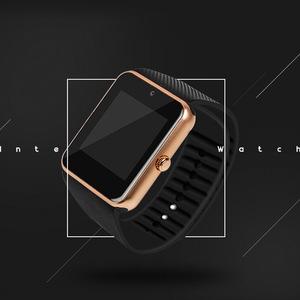 GT08 sleep sports tracking universal through technology wristwatch bluetooth mobile phone smart wear watch smartwatch for men 2