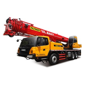 SANY Brand STC250H 25 Ton Five Section Boom Hydraulic Truck  Crane 2