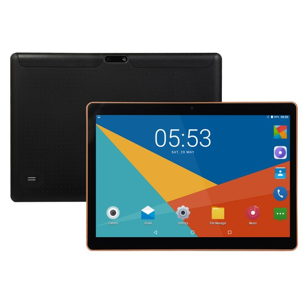 KT107 10.1 Inch 4G-LTE Tablet Android 8.0 Bluetooth PC 8+128GB Dual SIM with GPS Black Australia plug 2