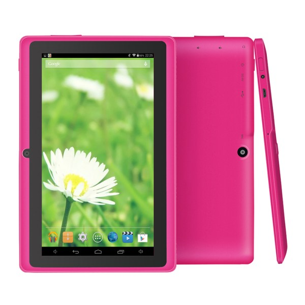 "7"" Wifi 1024*600 Screen Tablet PC 512+8 EU Standard 3-axis Gravity Induction Tablet PC Pink_European regulations 2"