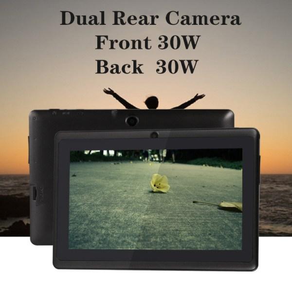 7 inch Tablet PC 1024x600 HD Black_512MB+8GB 2