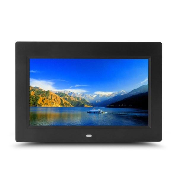 10 inch HD Digital Photo Frame MP3 MP4 Movie Player Fashion Digital Photos Frames-White US Plug 2