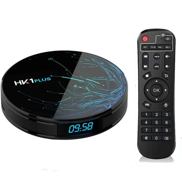 HK1 PLUS Android 64GB ROM Dual-frequency WiFi TV Box US Plug 2