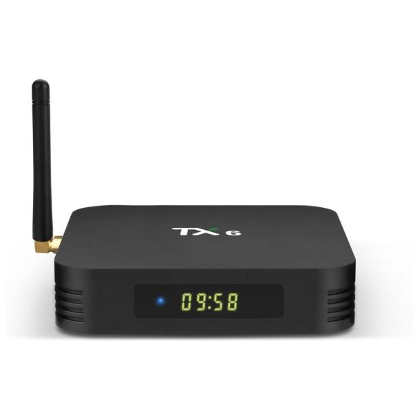 TX6 TV BOX 4G+64GB Dual WIFI with Bluetooth - UK Plug 2