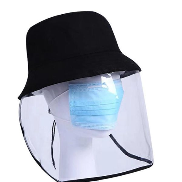 Anti-Saliva Protective Cap / Face Shield Hat 2