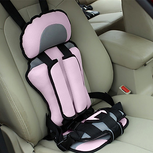 Car Safety Seat Adjustable Portable Convenient Breathable Polyester Fabric Thickening Baby Safety Seat Childen Protect Seat (3~6 years old) 2