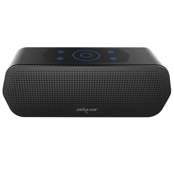 ZEALOT S20 Bluetooth Wireless Speaker Touch Control Portable Subwoofer 3D Stereo Sound System TF Card MP3 Play with Microphone 2