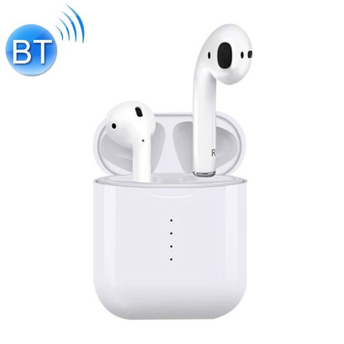 TWS i10 Wireless Headphones Bluetooth Charge Ear Buds Headset White 2