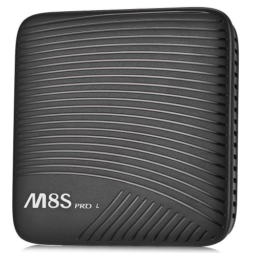 MECOOL M8S PRO L TV Box - 3GB RAM, 16GB ROM, Octa Core, Amlogic S912, Android 7.1, Ordinary remote control - Black, AU Plug 2