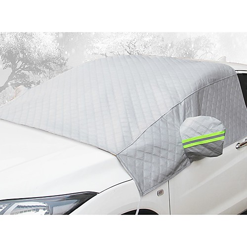 Car front windshield antifreeze cover anti-frost and snow thickening half body car clothing half cover 2
