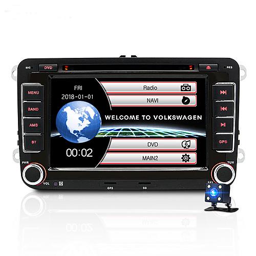 JUNSUN 2531-S 7 inch 2 DIN Windows CE In-Dash Car DVD Player / Car MP5 Player / Car Multimedia Player GPS / MP3 / Built-in Bluetooth for Volkswagen / Skoda / Seat Support AVI / WMV / ASF MP3 / WMA 2