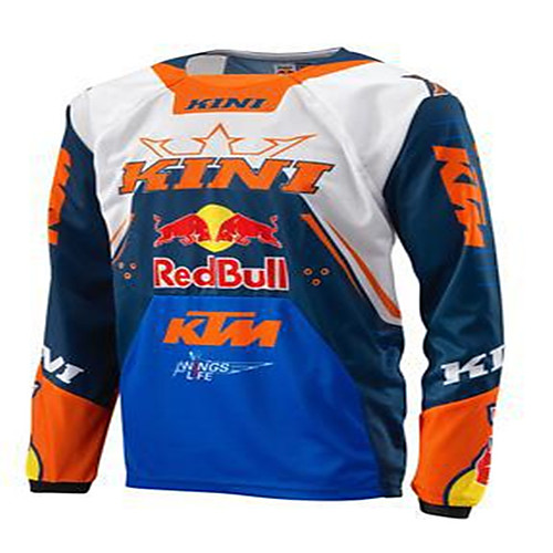 TLD speed down Motorcycle Jersy cycling Top Men's long sleeve summer off-road motorcycle suit customization 2