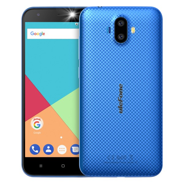 Ulefone S7 1GB RAM+8GB ROM Smartphone 5.0 inch IPS HD Display Android 7.0 Dual Camera 3G Mobile Phone Blue 2