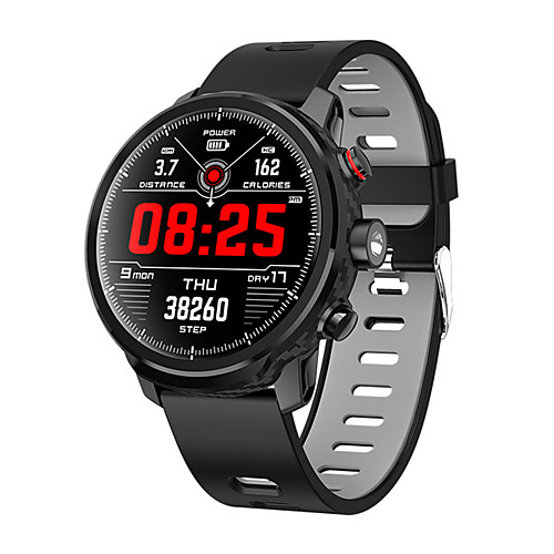 L5 Smart Watch BT Fitness Tracker Support Notify/ Heart Rate Monitor Standby 100 Days Sports Smartwatch Compatible Samsung/ Android/ Iphone 2