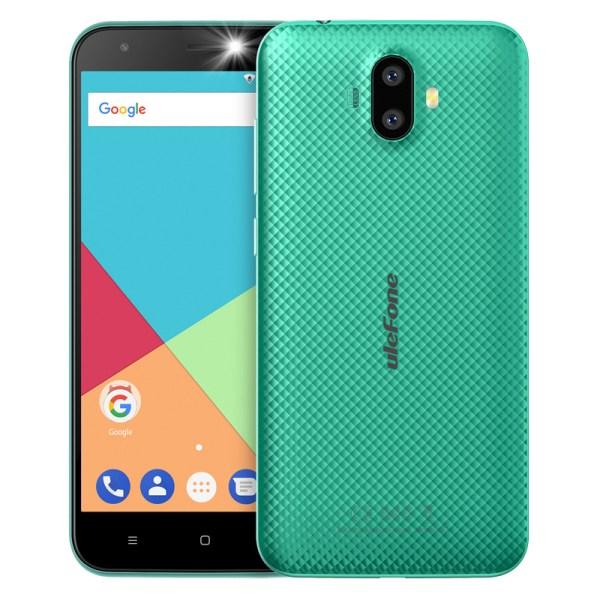 Ulefone S7 1GB RAM+8GB ROM Smartphone 5.0 inch IPS HD Display Android 7.0 Dual Camera 3G Mobile Phone Green 2