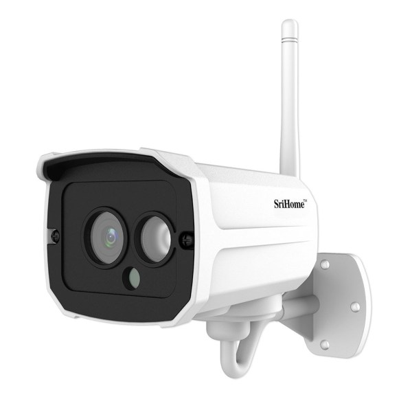 HD 1080P 2 Million Pixels Home Security IP Camera Wireless Smart WIFI Camera Audio Record Baby Monitor US Plug 2