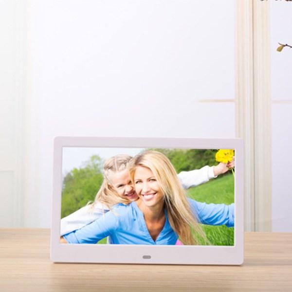 10.1 Inch Widescreen Digital Photo Frame White EU Plug 2