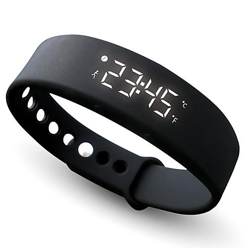 Women's Sport Watch Bracelet Watch Wrist Watch Silicone Black / Blue / Red Chronograph Stopwatch Digital Casual Bangle - Red Green Blue 2