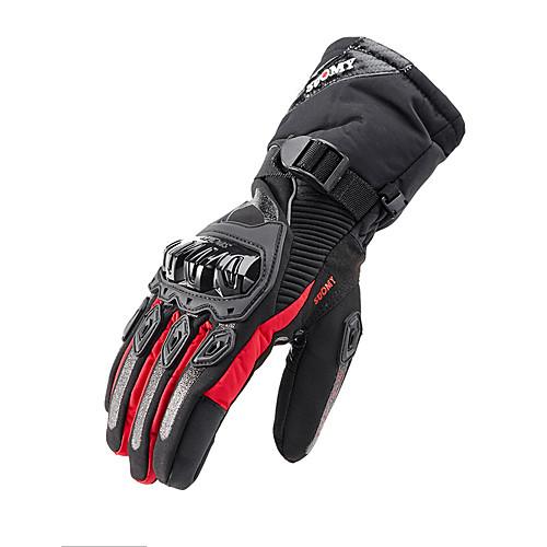 SUOMY WP-02 Waterproof Motorcycle Gloves Winter Touchscreen Gloves Winter Warm Windproof For Motorcycle Cycling Skiing Skateboard 2