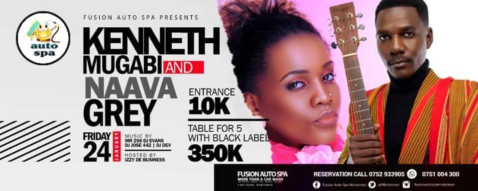 Kenneth Mugabi & Naava Grey Live