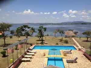 Samuka Island Lake Victoria in Jinja city