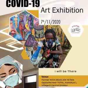 CoviD 19 Art exhibition