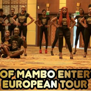 Mambo Entertains Dance Group Competitions