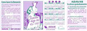 Calendario ADAVAS 2006