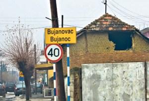 Bujanovac znak na ulazu