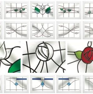 Glass decorative options