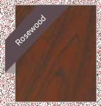 PVCu rosewood mahogany cherrywood