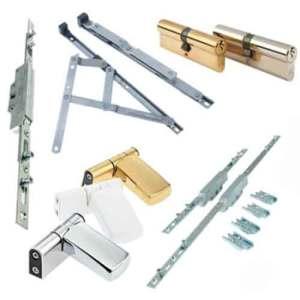 PVC window hardware